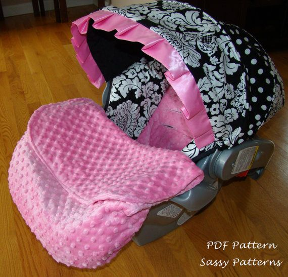 Lucksherry Newborn Car Seat Cover